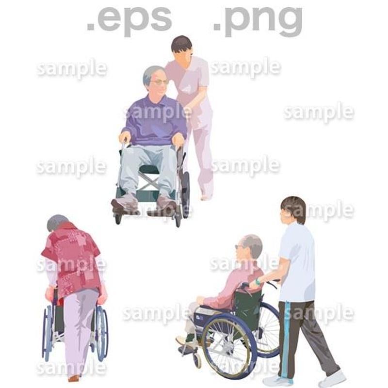 シニアイラスト (EPS , PNG )   se_211