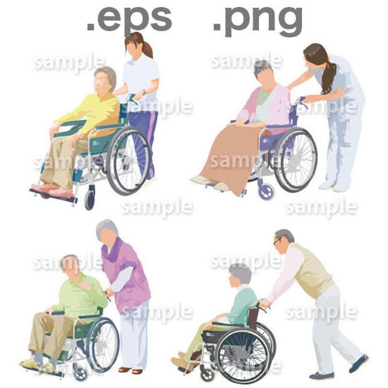 シニアイラスト (EPS , PNG )   se_005