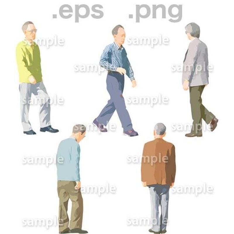 シニアイラスト (EPS , PNG )   se_052