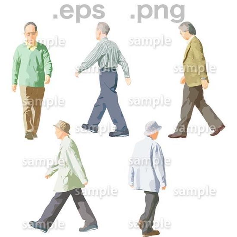 シニアイラスト (EPS , PNG )   se_053