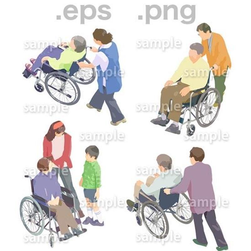 シニアイラスト (EPS , PNG )   se_089