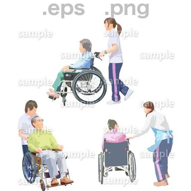 シニアイラスト (EPS , PNG )   se_214