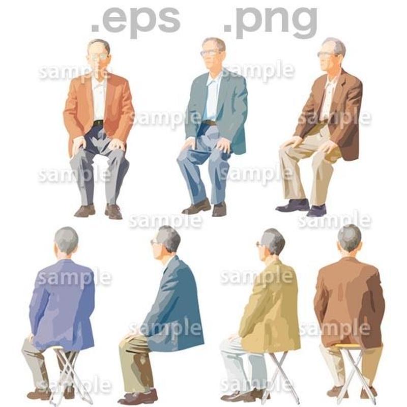 シニアイラスト (EPS , PNG )   se_051