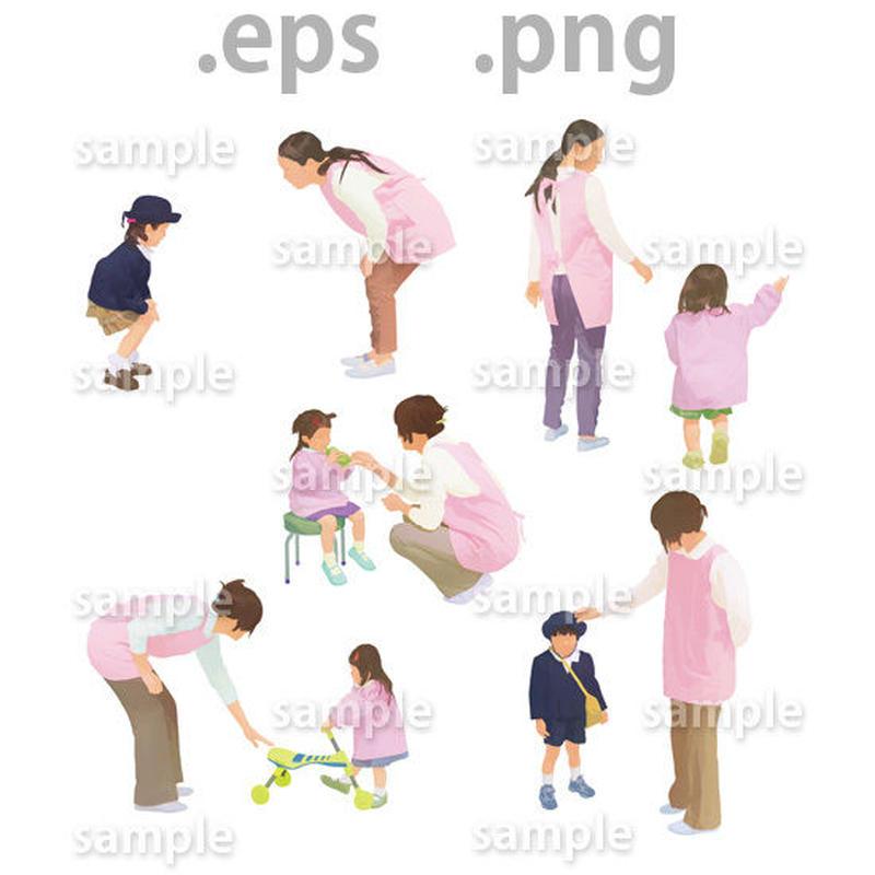 子供イラスト (EPS , PNG )   ch_013