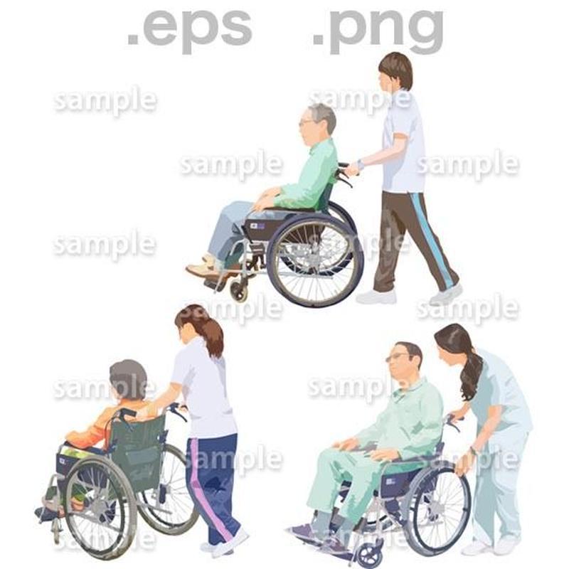シニアイラスト (EPS , PNG )   se_217