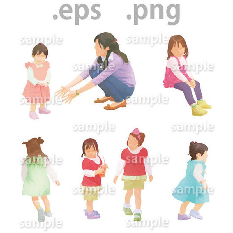 子供イラスト (EPS , PNG )   ch_005