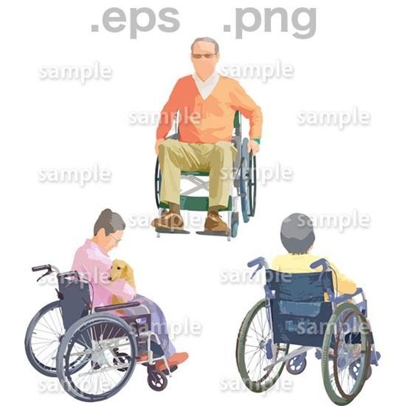 シニアイラスト (EPS , PNG )   se_225