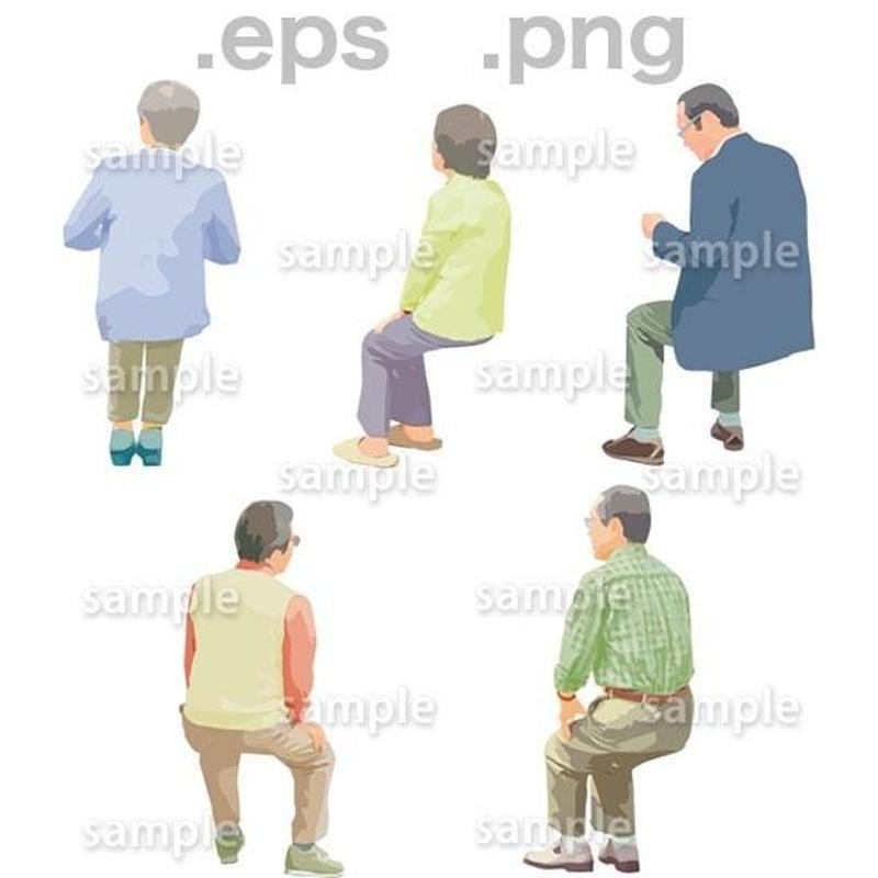 シニアイラスト (EPS , PNG )   se_175