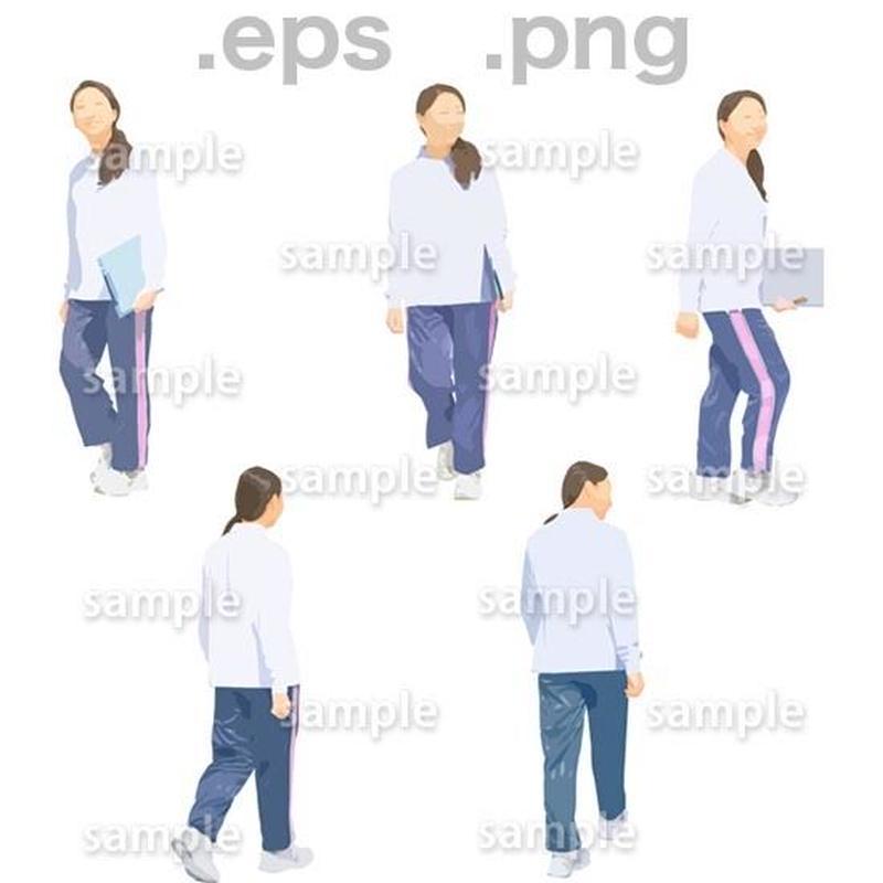 介護スタッフイラスト (EPS , PNG )   se_262