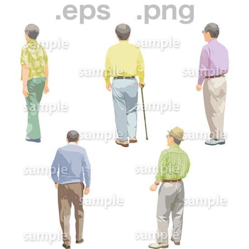 シニアイラスト (EPS , PNG )   se_144