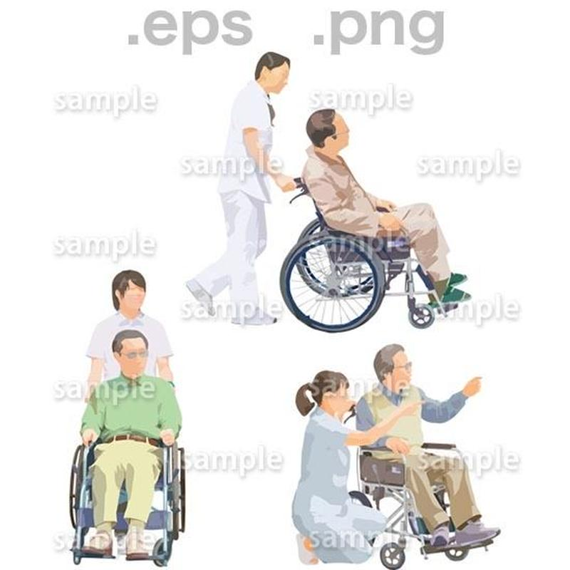 シニアイラスト (EPS , PNG )   se_219