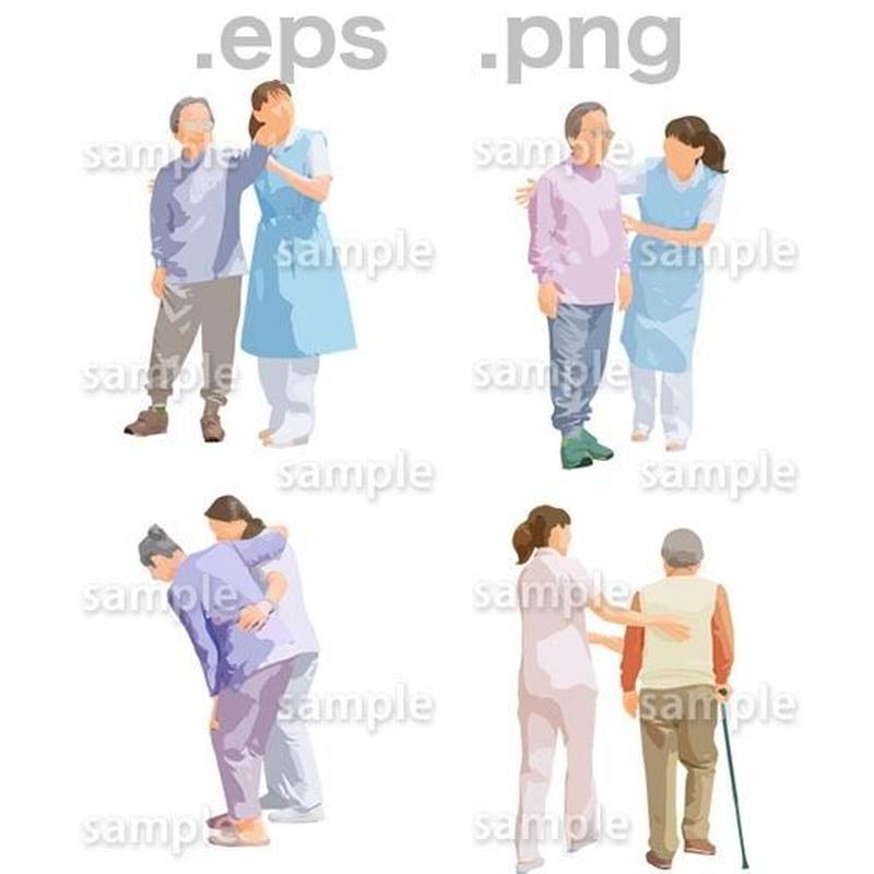 シニアイラスト (EPS , PNG )   se_235