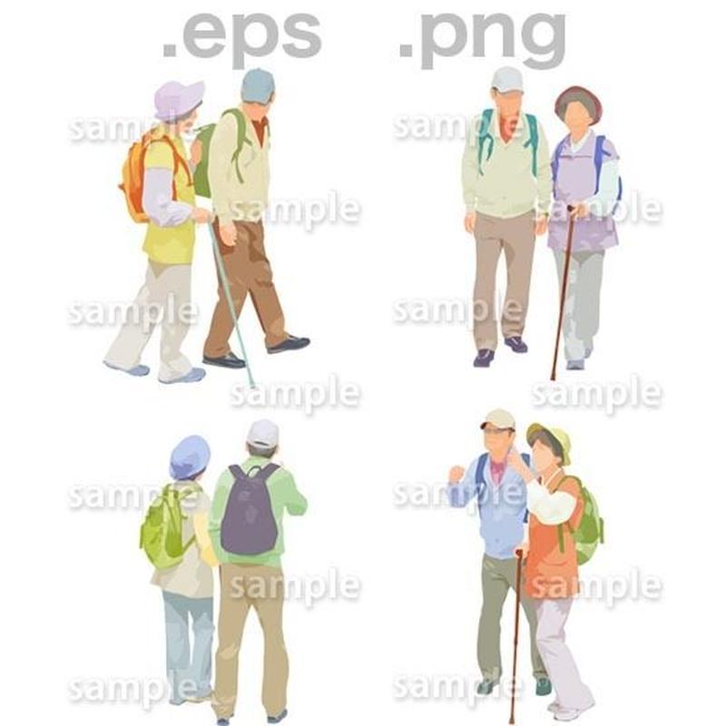 シニアイラスト (EPS , PNG )   se_125