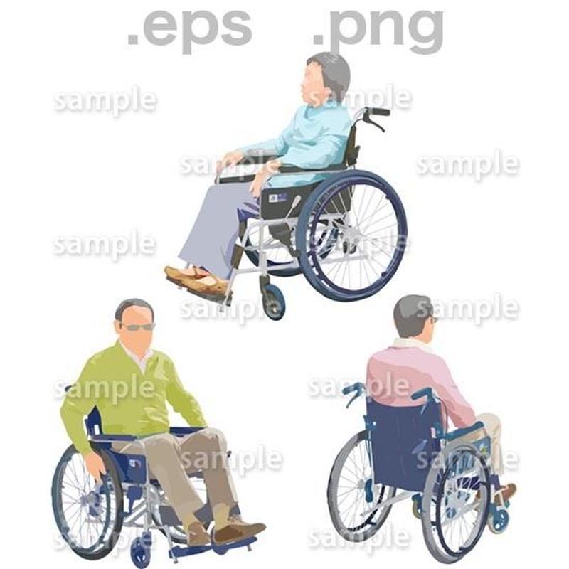 シニアイラスト (EPS , PNG )   se_227