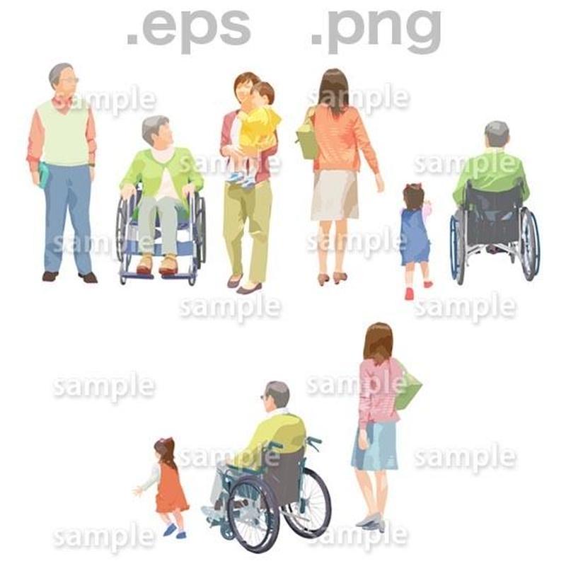 シニアイラスト (EPS , PNG )   se_200
