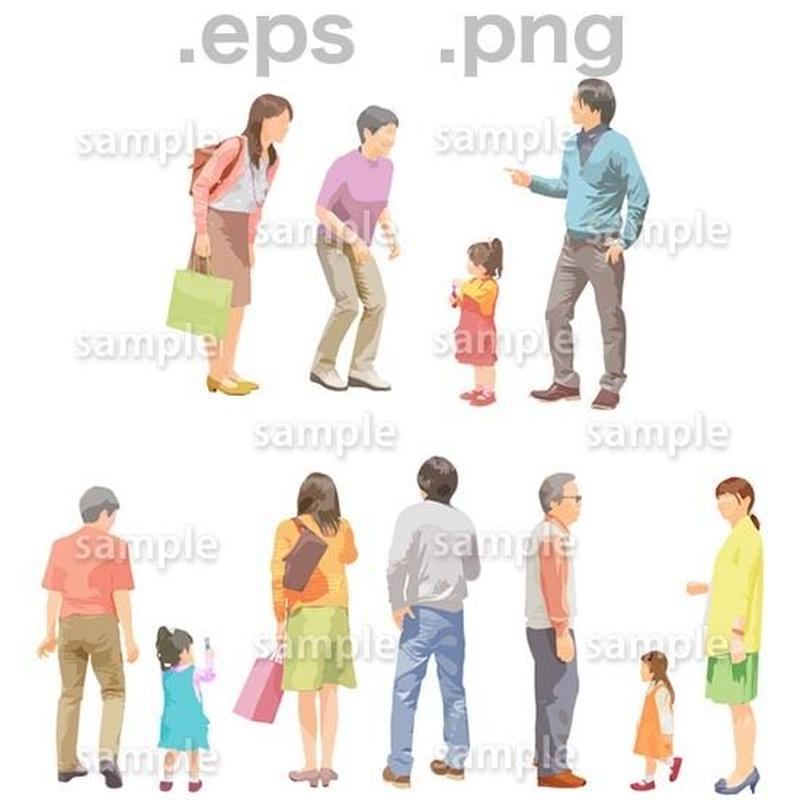 シニアイラスト (EPS , PNG )   se_099