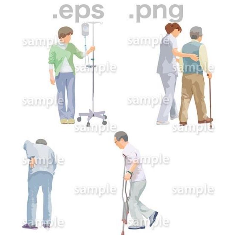 シニアイラスト (EPS , PNG )   se_237