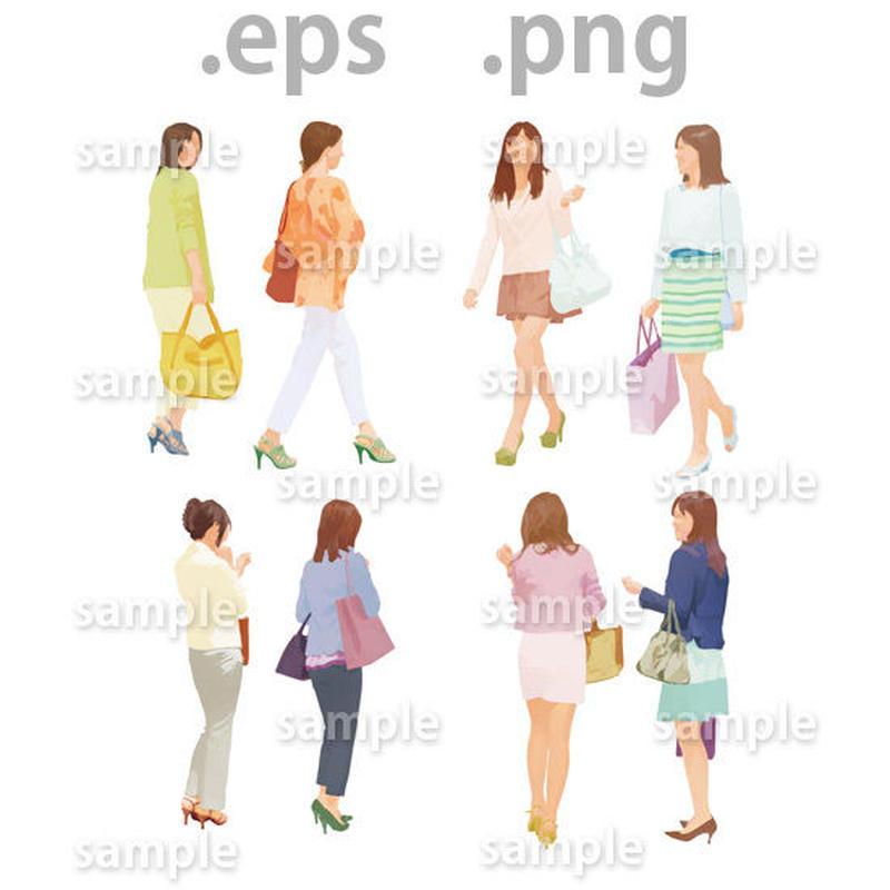 ファミリーイラスト (EPS , PNG )   fa_017