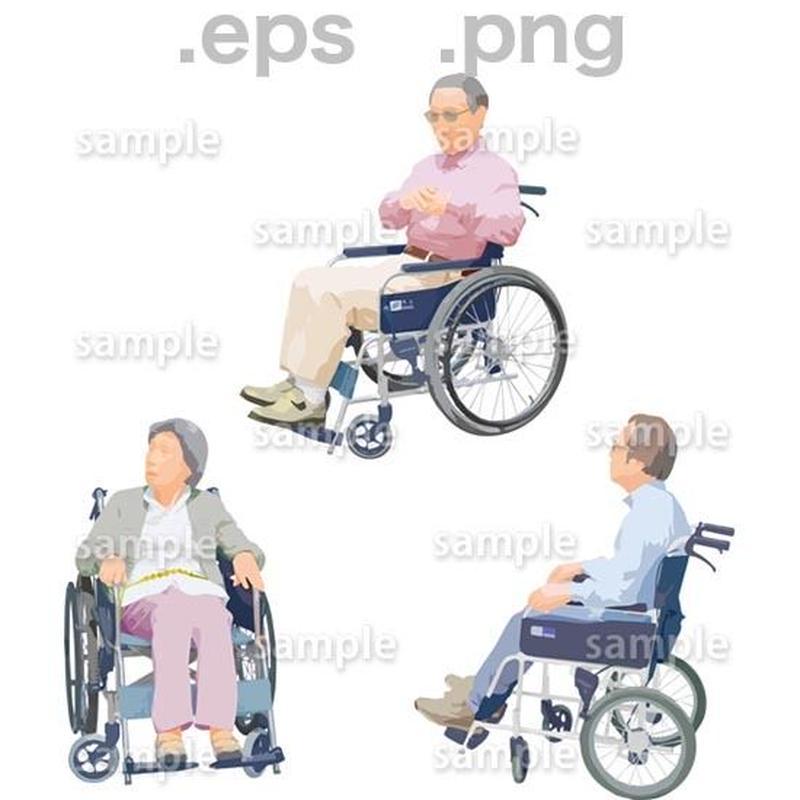 シニアイラスト (EPS , PNG )   se_230