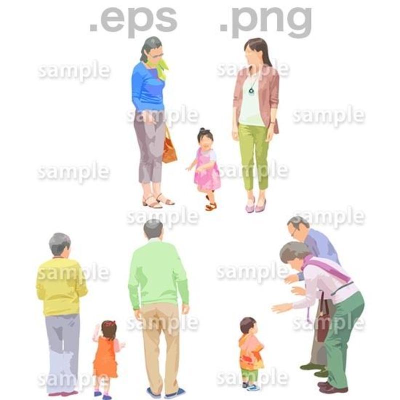シニアイラスト (EPS , PNG )   se_104