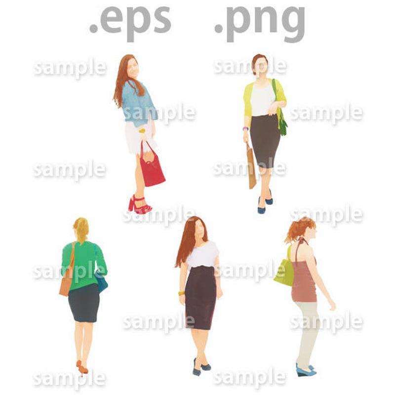 外国人イラスト (EPS , PNG )   gl_011