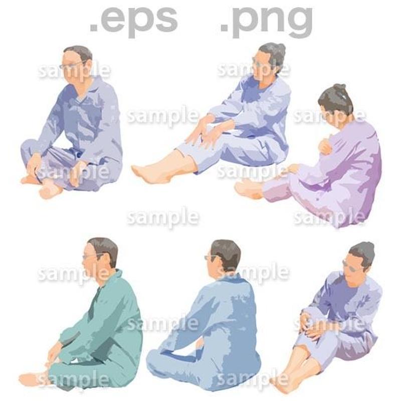 シニアイラスト (EPS , PNG )   se_255