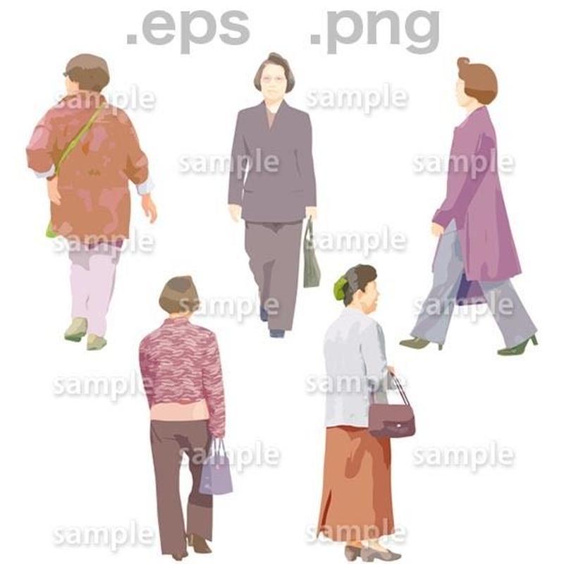 シニアイラスト (EPS , PNG )   se_074