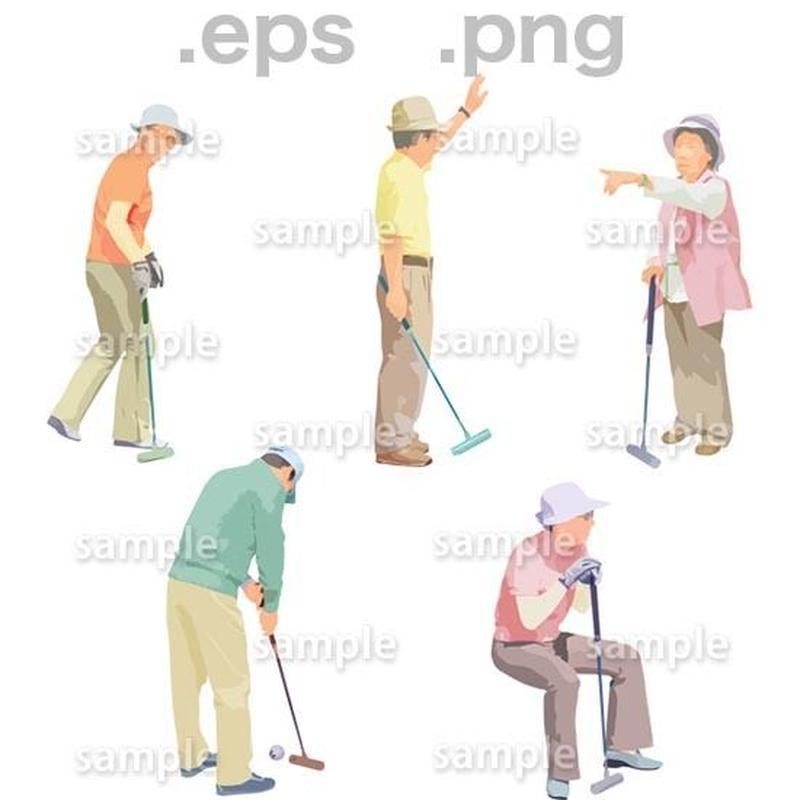 シニアイラスト (EPS , PNG )   se_156