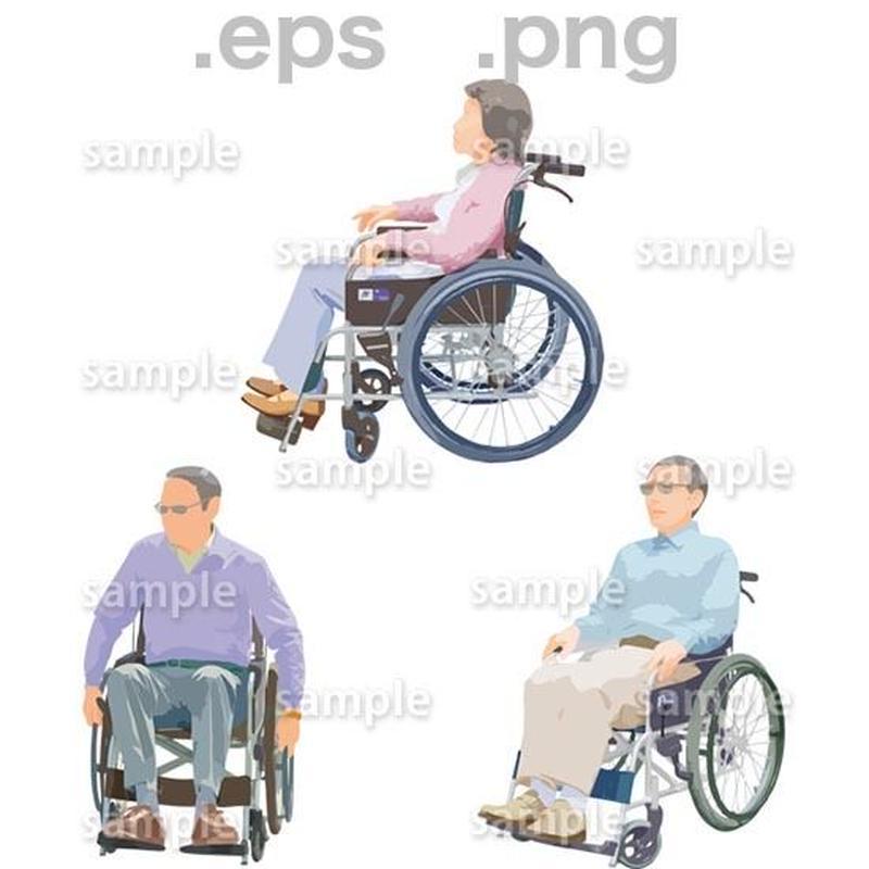 シニアイラスト (EPS , PNG )   se_228