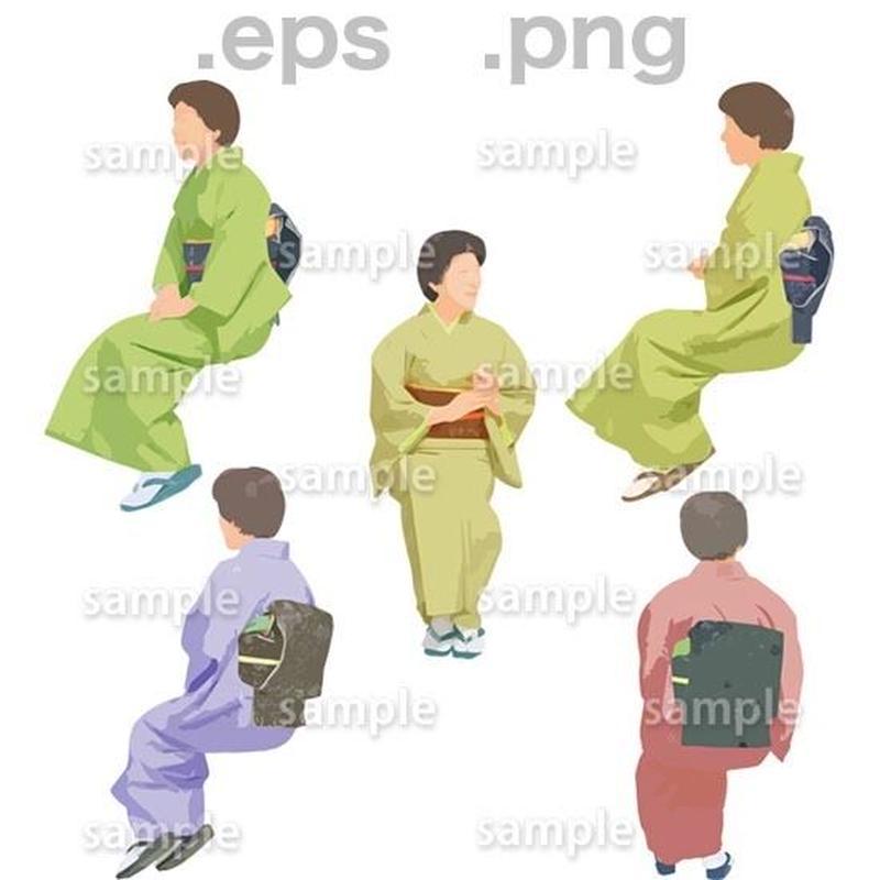 シニアイラスト (EPS , PNG )   se_188