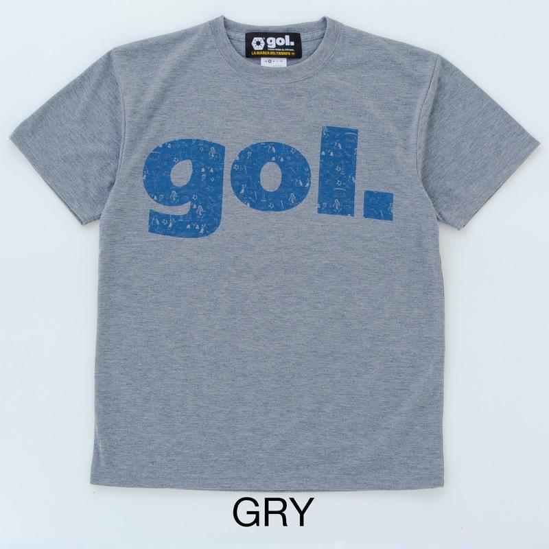 gol/ゴル/フェイクコットンドライシャツ<ARGENTINA>(グレー)【G992-718-003】