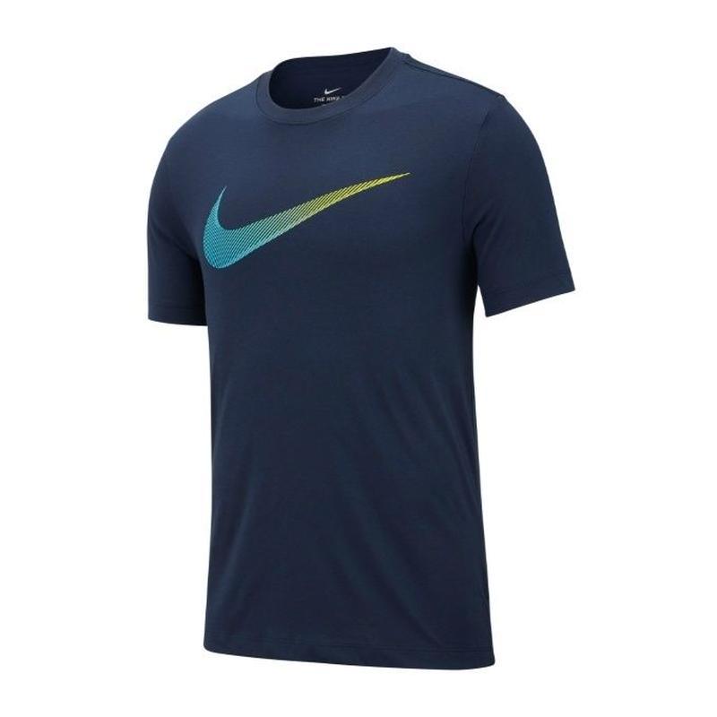 【トレーニング】NIKE/ナイキ/DRI-FIT DFCT 2YEAR SWO S/S Tシャツ(オブシディアン/ライトブルーフューリー)【AR5969-451】