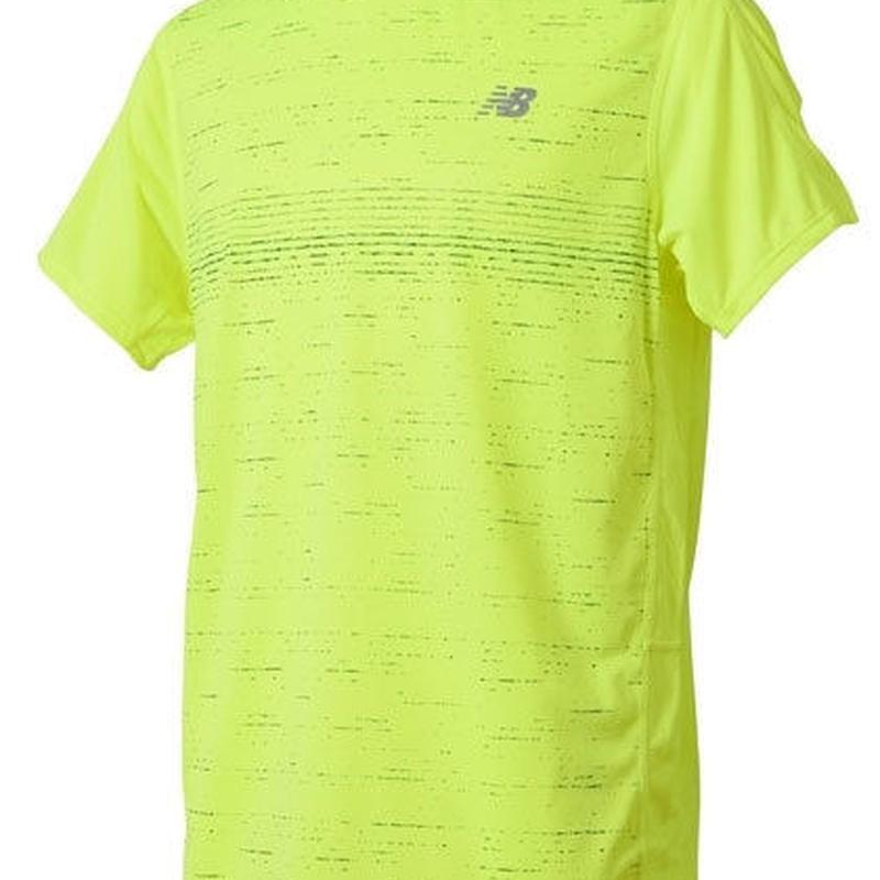 new balance/ニューバランス/アクセレレイトショートスリーブグラフィックTシャツ(ノースシー)【AMT81274-NOS】