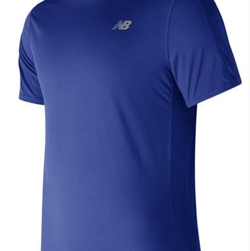 new balance/ニューバランス/アクセレレイトショートスリーブTシャツ(チームロイヤル)【AMT73061-TRY】