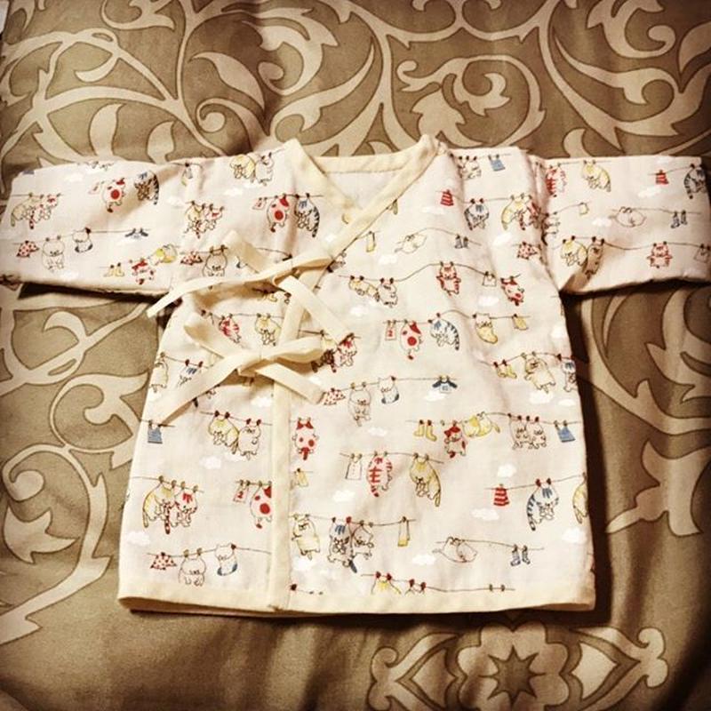 新生児用♡短/長肌着【型紙ダウンロード販売】