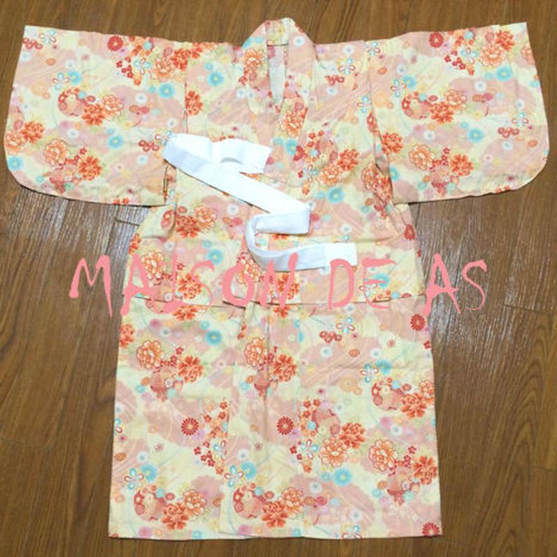 子供用本格浴衣♡サイズ100(和&洋裁型紙)【型紙ダウンロード販売】