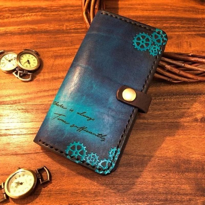 Cobalt blue SmartPhone case Ⅱ / コバルトブルーのスマホケース Ⅱ