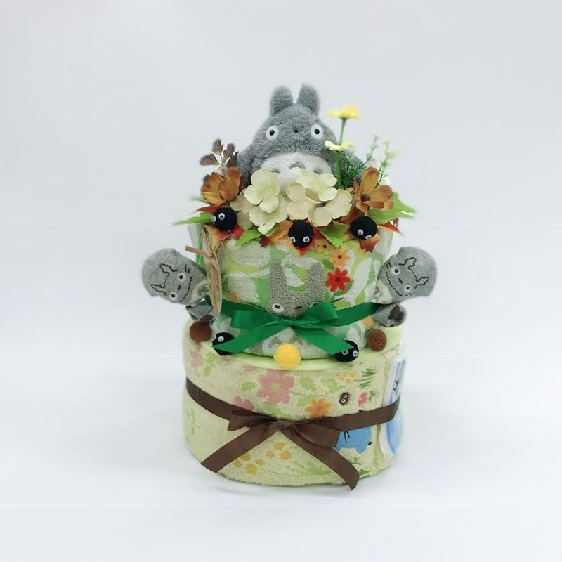 となりのトトロ おむつケーキ2段タイプ キャラクター物