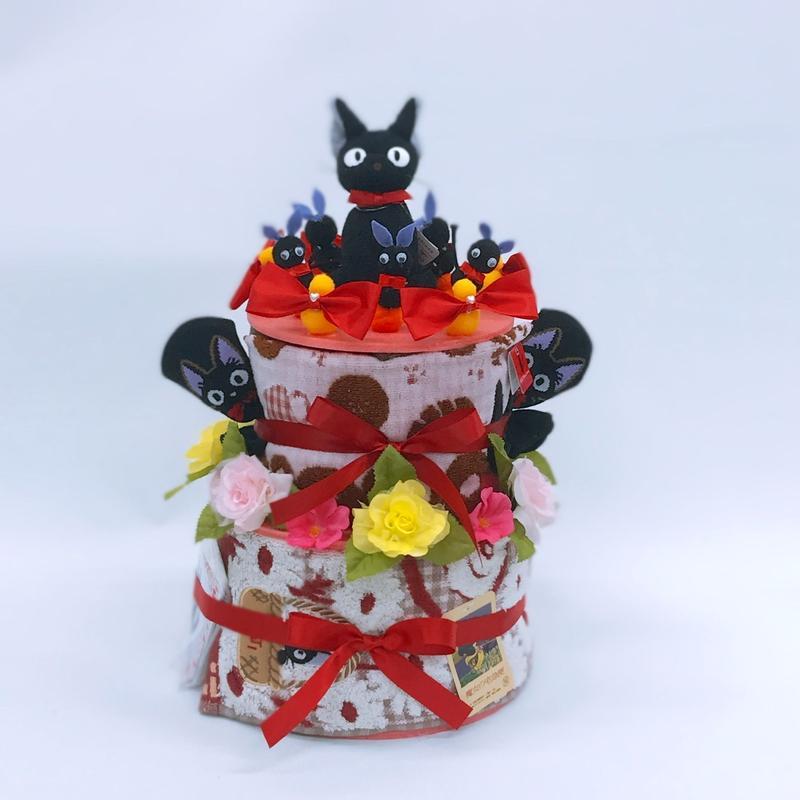 魔女の宅急便 ジジ おむつケーキ2段タイプ キャラクター物