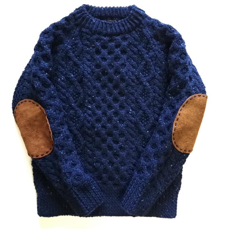 makufuri Hand Knit Fisherman<NavyNepp>