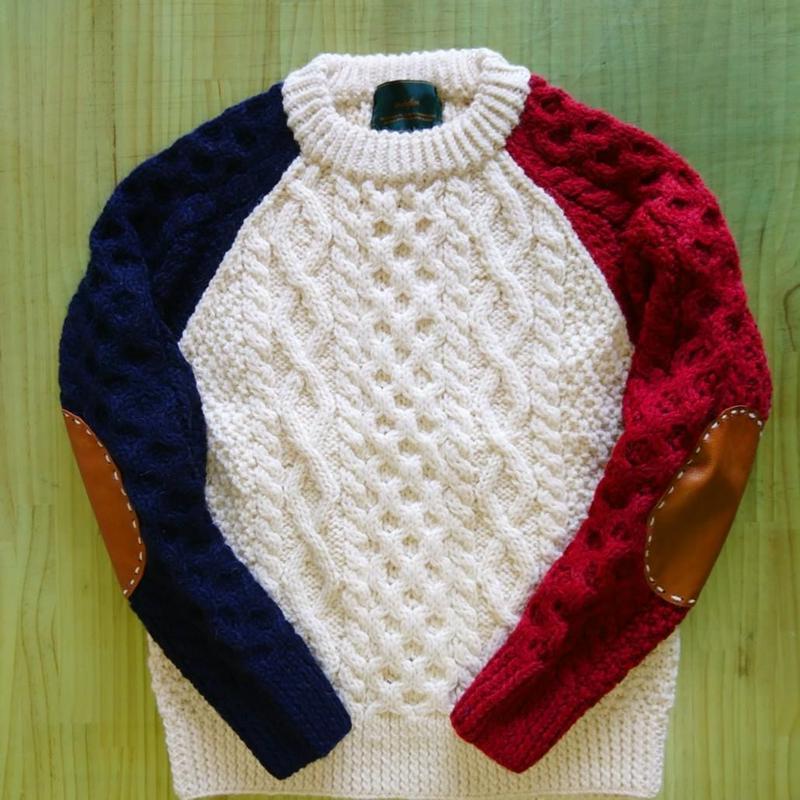 makufuri Field Man Sweater
