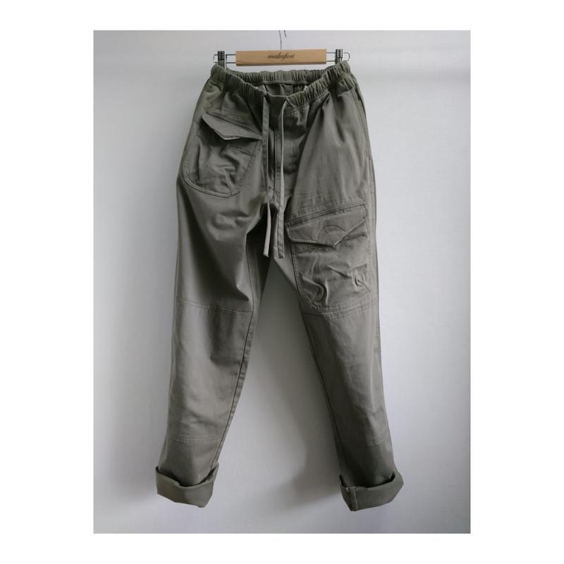 makufuri Six Pockets Utility Work Pants〈Gray〉