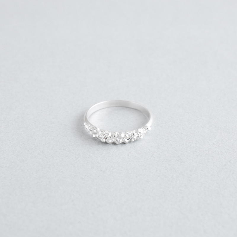 STONE SKIN RING S  DIAMOND