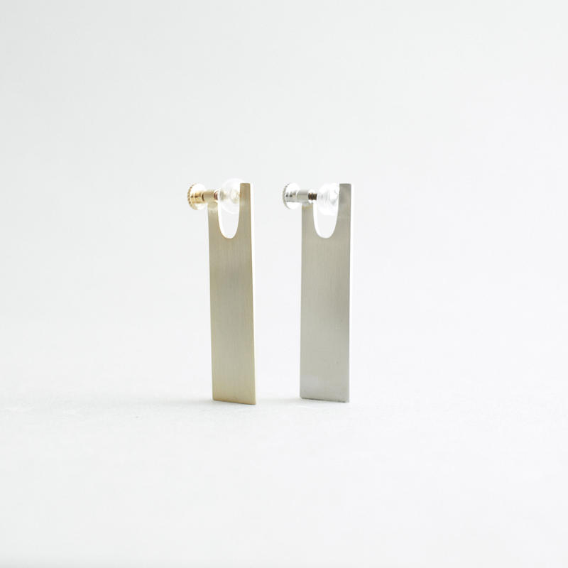 PLATE LONG   normal  earrings