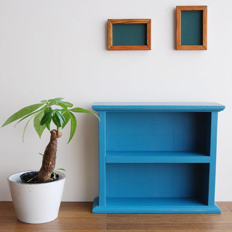 オリジナル豆本棚[Ohio Cupboard Blue]