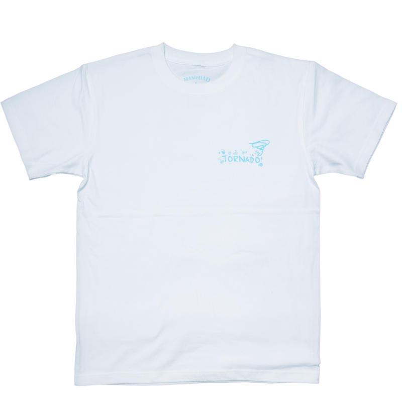 【WHT×BLU】tornado official Tshirt 2017