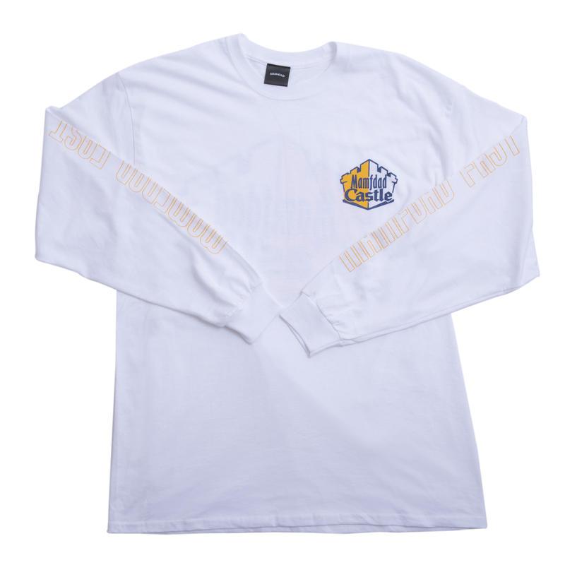 【WHT】castle longT shirt