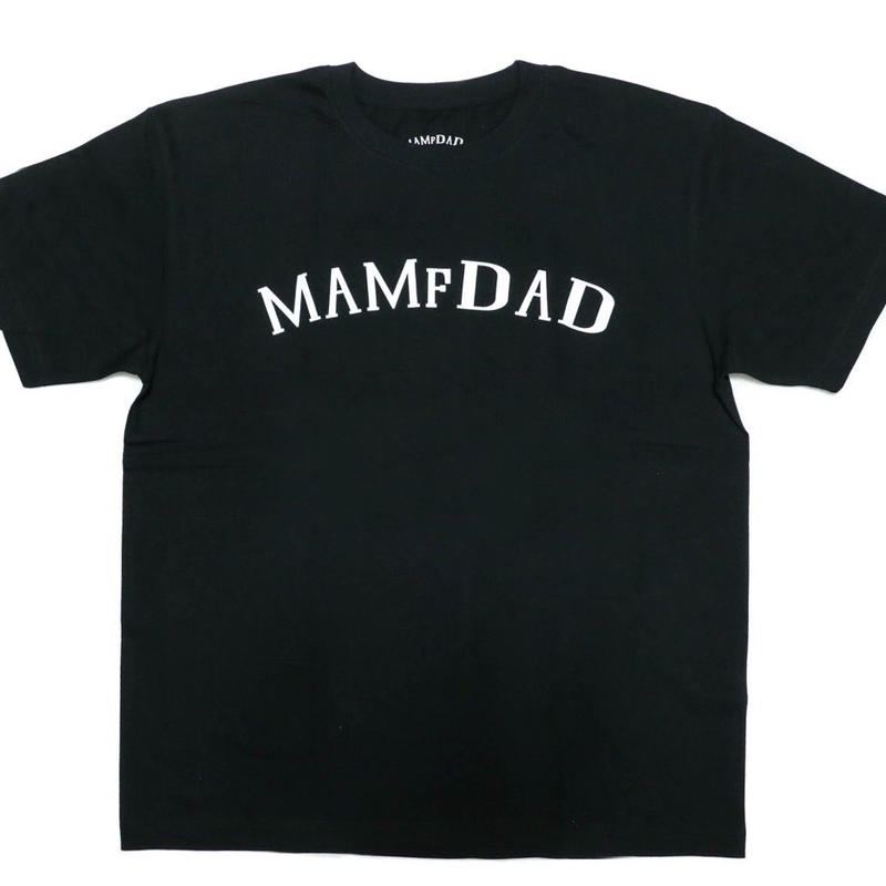 MAMfDAD Arch LOGO T-shirts 【BLK】