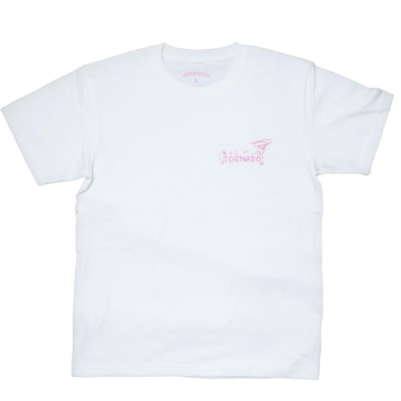 【WHT×PUR】tornado official Tshirt 2017