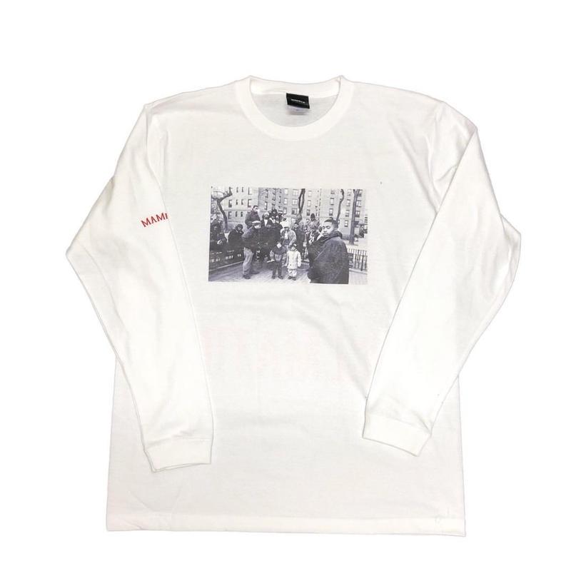 【WHT】ILLMATIC long sleeve T-shirt